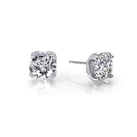 Round 3.5 Ctw Stud Earrings - Lafonn E0104CLP00