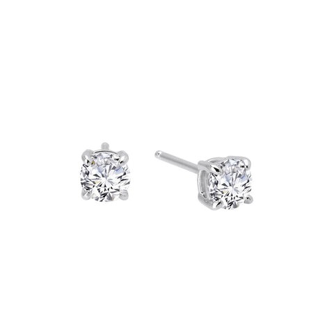 Round 1 Ctw Simulated Diamond Stud Earrings - Lafonn E0107CLP00
