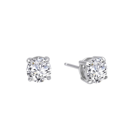 Round 1.5 Ctw Simulated Diamond Stud Earrings - Lafonn E0108CLP00