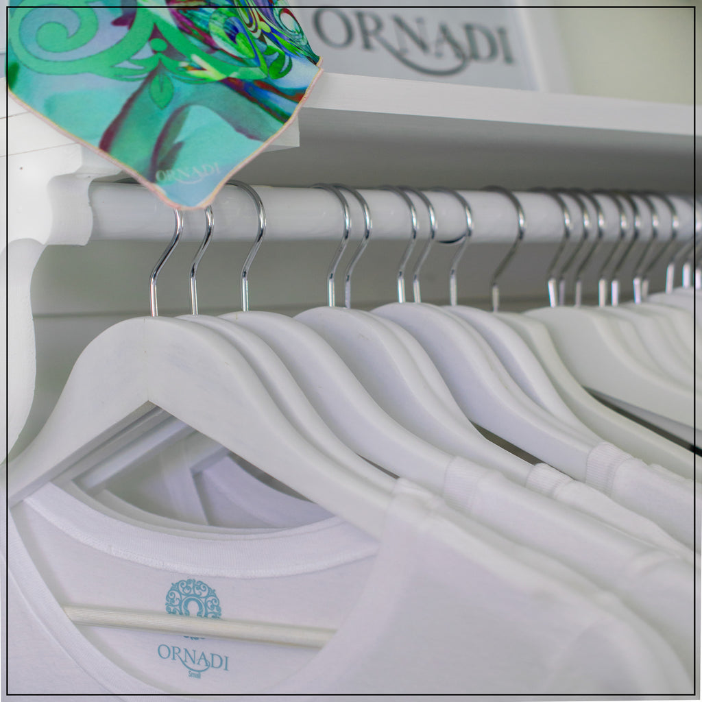ornadi white T-shirts