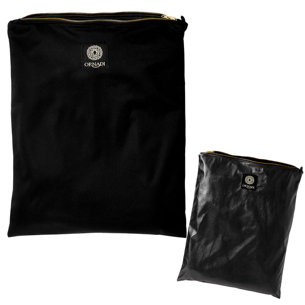 BLACK WET DRY BAG REVERSIBLE ORNADI