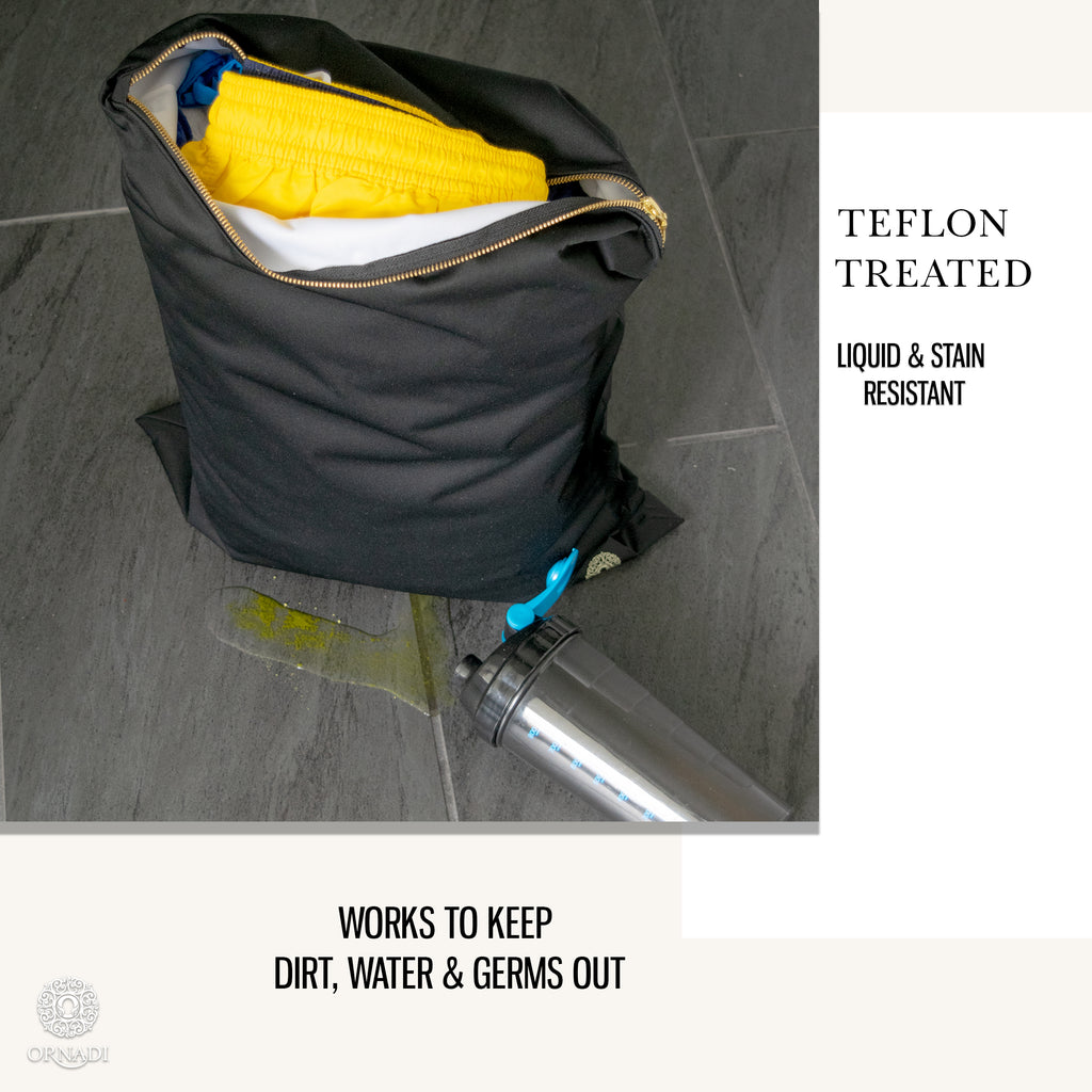 Wet Gym Clothes Bag Antimicrobial Ornadi