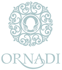Ornadi Logo Blue on White