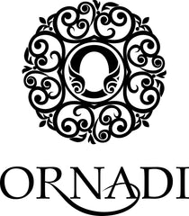 Ornadi Logo Black on White