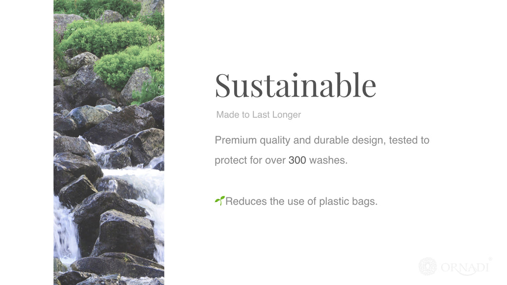 Sustainable gym clothes bag