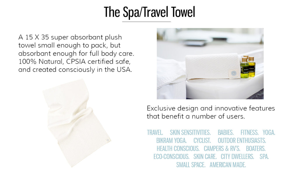 Ornadi Organic Travel Towel