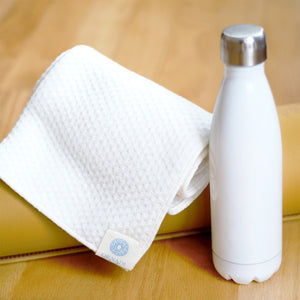 Premium Bamboo Organic Cotton Ultra Absorbent Towel | Soft Face & Natural Hair Drying Cloth - Ornadi