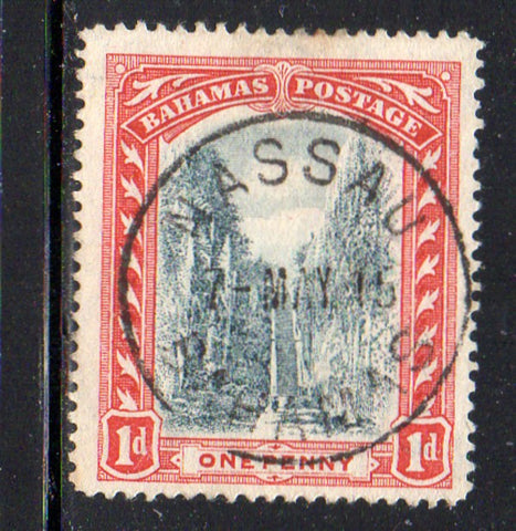 Bahamas Scott  48 1916 1d Queens Staircase stamp used