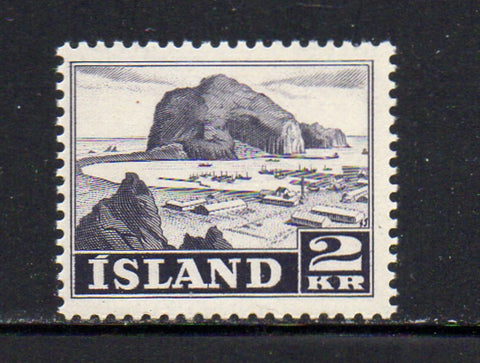 Iceland Scott  267 1950 2 kr Harbour stamp mint NH