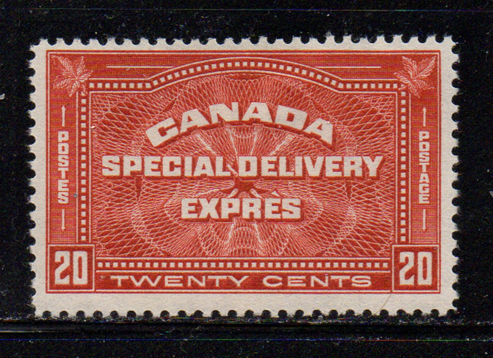 Canada Scott  E4 1930 20c Special Delivery stamp  mint