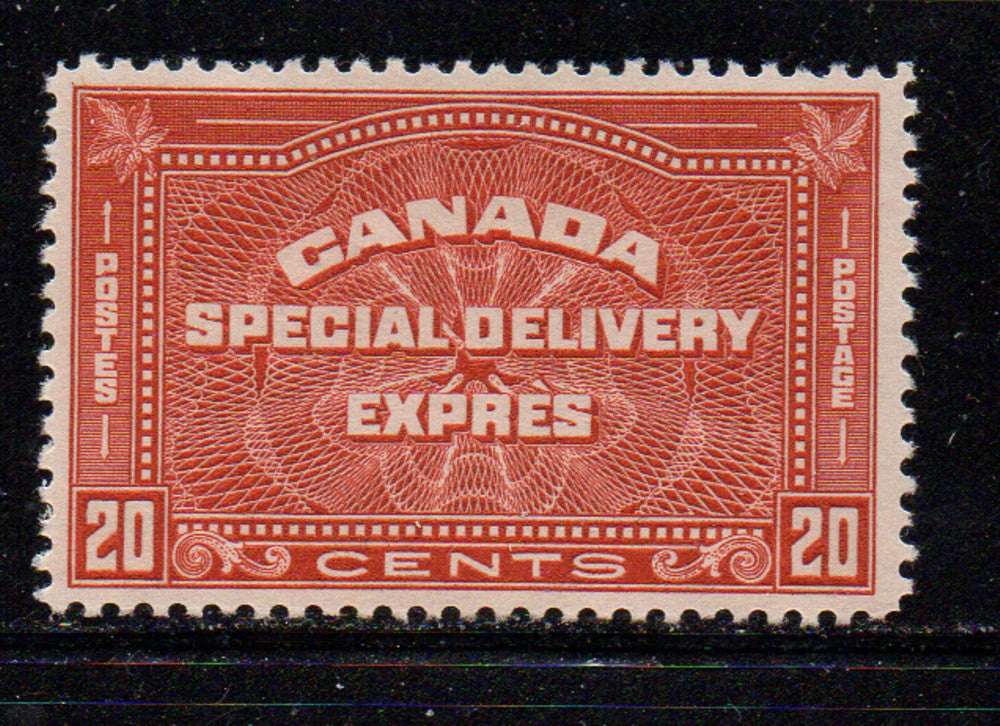 Canada Scott  E5 1932 20c Special Delivery stamp  mint