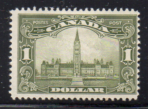 Canada Scott  159 1929 $1 Parliament Building stamp mint