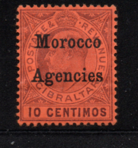 Great Britain Morocco Agencies Sc 21 1903 10 c Edward VII  stamp mint