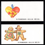 Scott 920-1 1987 Christmas stamp booklets mint NH