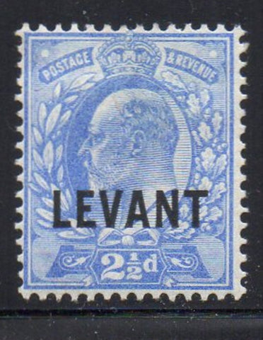 Great Britain Offices in Turkish Empire Sc 19 1905 LEVANT ovpt on 2 1/2d E VII stamp mint