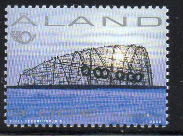Aland Scott  205 2002 Sculpture by Lindfors stamp mint NH