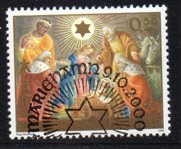 Aland Scott  172 2000 2000th Anniversary Christianity stamp used