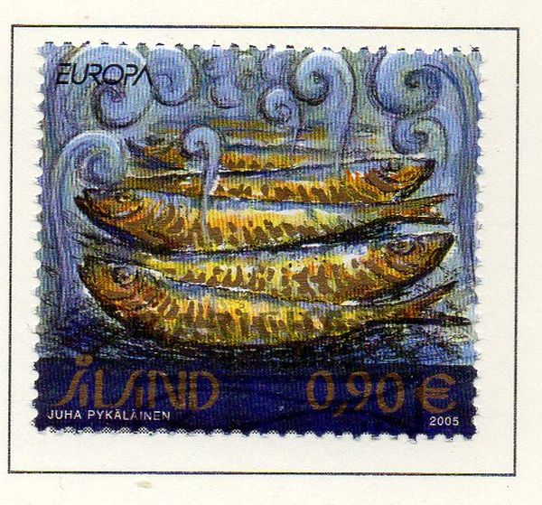 Aland Finland Scott  234 2005 Europa stamp used