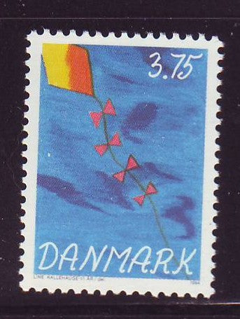 Denmark  Scott  1010 1994 Children's Stamp Competition stamp mint NH