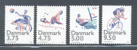 Denmark  Scott  1045-48 1996 Sports Olympics stamp set mint NH