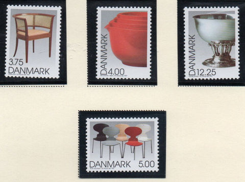 Denmark  Scott  1082-85 1997 Danish Design stamp set mint NH