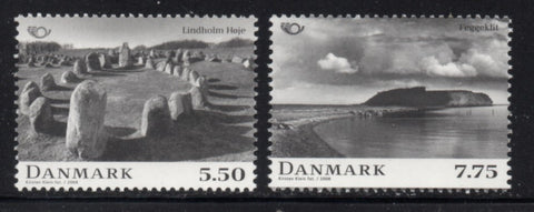 Denmark  Scott  1402-3 2008  Nordic Mythology stamp set mint NH