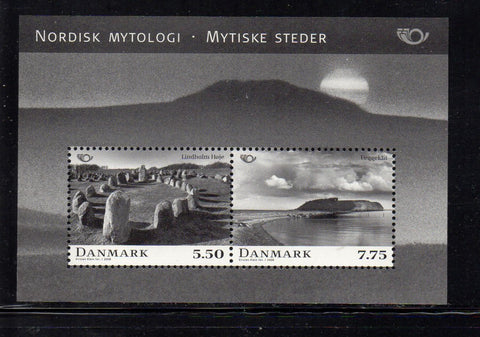 Denmark  Scott  1403a 2008 Norsk Mythology stamp sheet mint NH