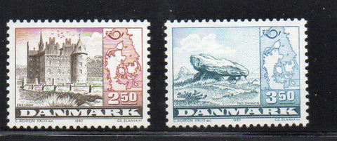 Denmark  Scott  735-6 1983 Nordic Cooperation stamp set mint NH