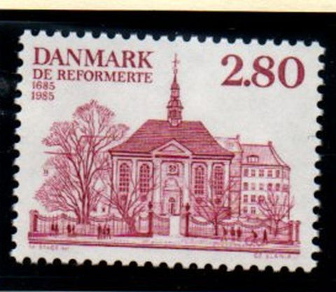 Denmark  Sc  769 1985 German & French Reform Church stamp mint NH