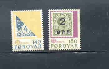 Faroe Islands Scott 43-44  1979 Europa stamp set mint NH