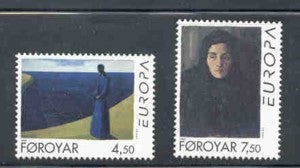 Faroe Islands Scott  302-3 1996 Europa stamp set mint NH