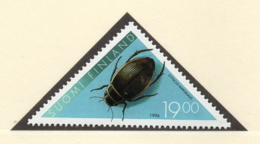 Finland Scott  1009 1996 Insect stamp  mint NH