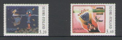 Finland Scott  1037-8 1997 Europa stamp set mint NH