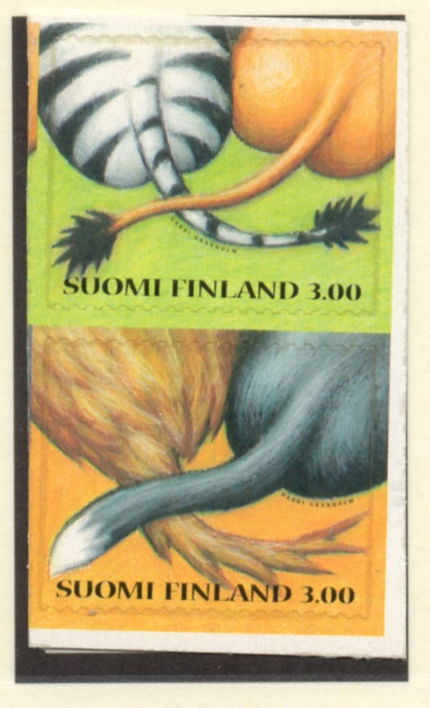 Finland Scott  1101-2 1999 Friendship stamp set mint NH