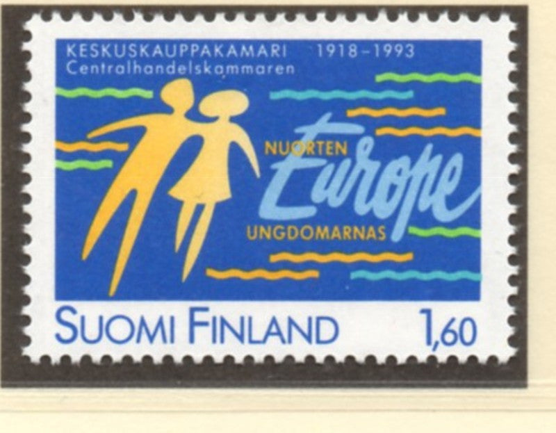 Finland Scott  905 1993 Chamber of Commerce stamp mint NH