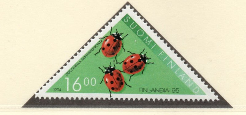 Finland Scott  940 1994 Insect stamp mint NH
