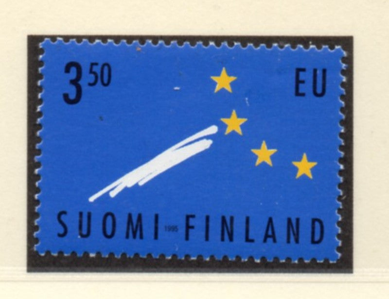 Finland Scott  958 1995 European Union stamp mint NH