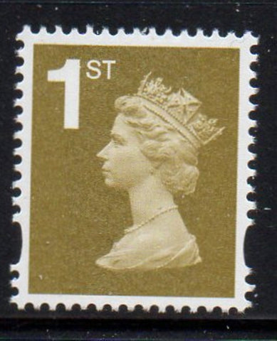 "Great Britain  Scott  MH376 2006""1st"" gold Machin head stamp mint NH"