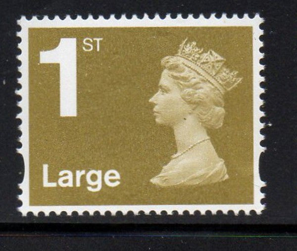 "Great Britain  Scott  MH378 2006""1st Large"" gold Machin head stamp mint NH"