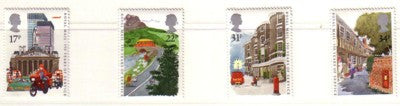 Great Britain Scott  1111-14 1985 Royal Mail stamp set mint NH