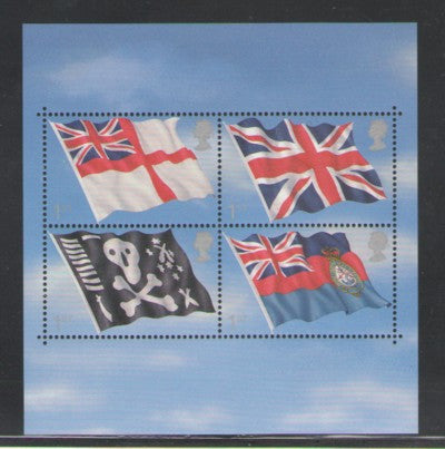 Great Britain Scott  1999 2001 Flags stamp sheet mint NH