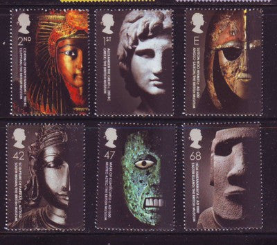 Great Britain Scott  2159-64 2003  British Museum stamp set mint NH
