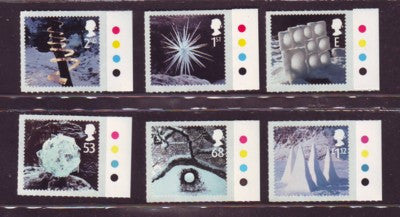 Great Britain Scott  2165-70 2003 Christmas stamp set mint NH