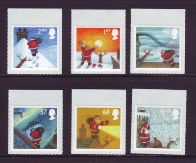 Great Britain Scott  2245-0  2004 Christmas stamp set mint NH