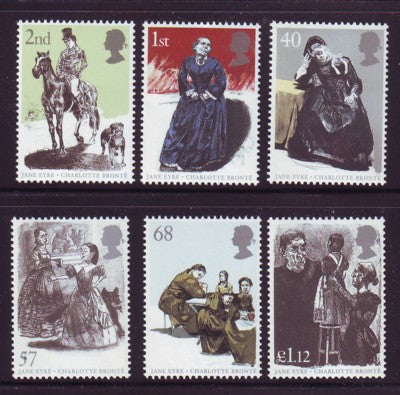 Great Britain Scott  2267-72  2005 Jane Eyre stamp set mint NH