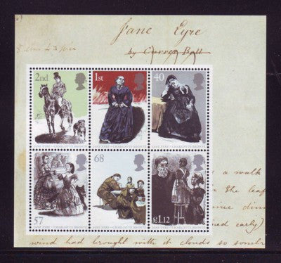 Great Britain Scott  2272a 2005 Jane Eyre stamp sheet mint NH