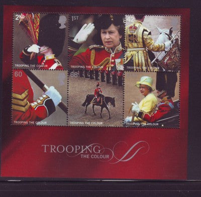 Great Britain Scott  2293a 2005 Trooping the Colour stamp sheet mint NH