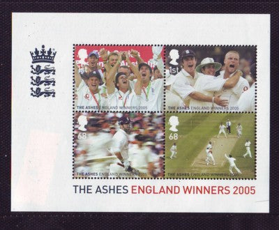 Great Britain Scott  2320 2005 The Ashes stamp sheet mint