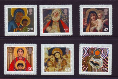 Great Britain Scott  2328-33  2005 Christmas stamp set mint NH