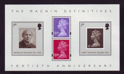 Great Britain Scott  2471 2007 Machins stamp sheet mint NH